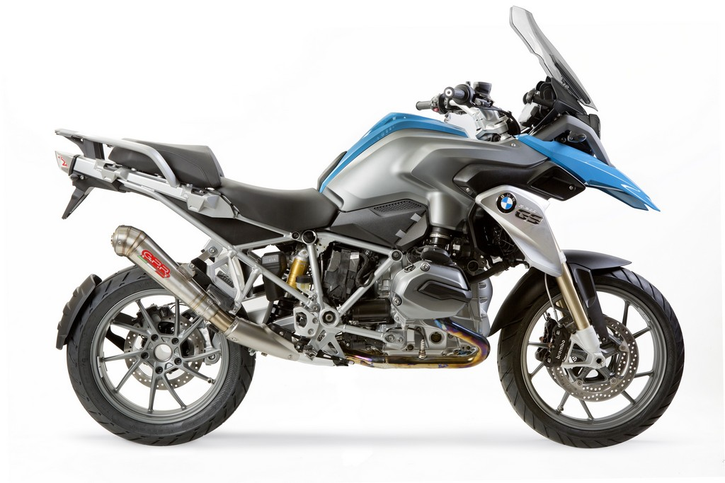 gpr scarico bmw r1200 gs 2013 diverse forme e materiali cavalli vapore. Black Bedroom Furniture Sets. Home Design Ideas