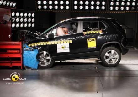 Chevrolet Trax 5 stelle Euro NCAP