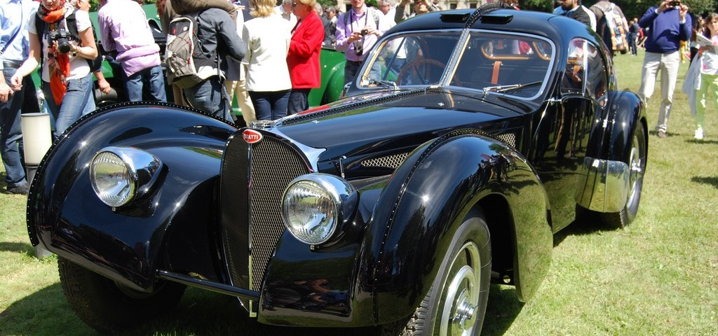 Concorso Eleganza Villa Este 2013 - Bugatti 57 SC Atlantic