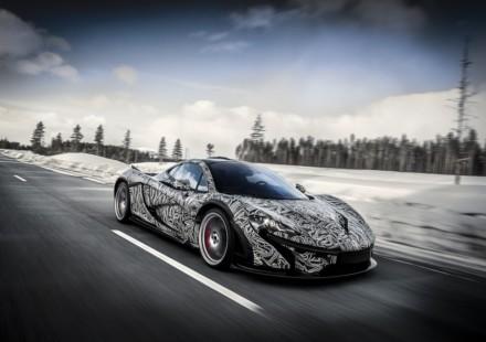 McLaren P1 Ghiaccio