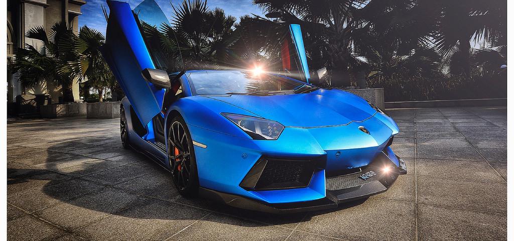 DMC Luxury Lamborghini Half Breed
