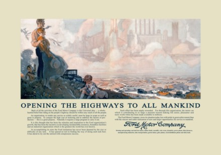 Ford Opening the Highways Restauro
