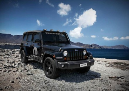Jeep Wrangler Unlimited Sahara Moparized