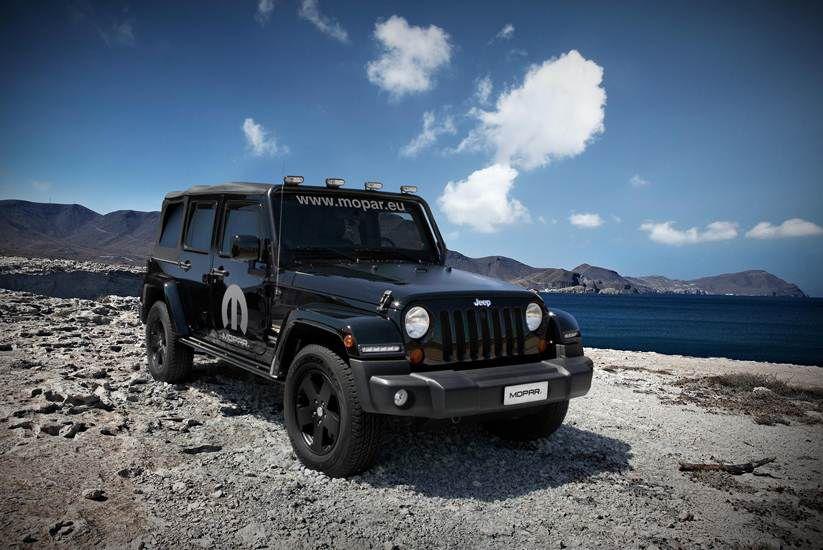 Jeep Wrangler Unlimited Sahara Moparized