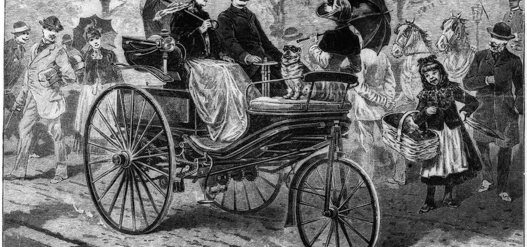Mercedes 125 anni di Bertha Benz