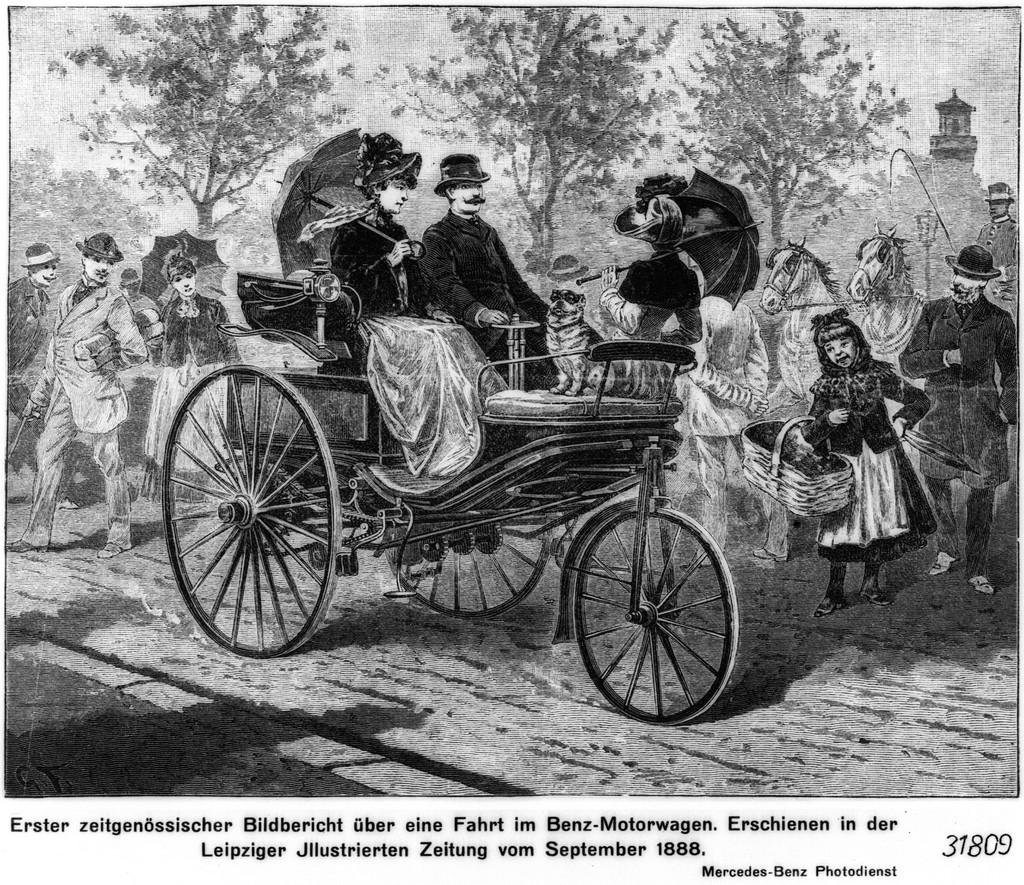 Mercedes 125 anni di Bertha Benz