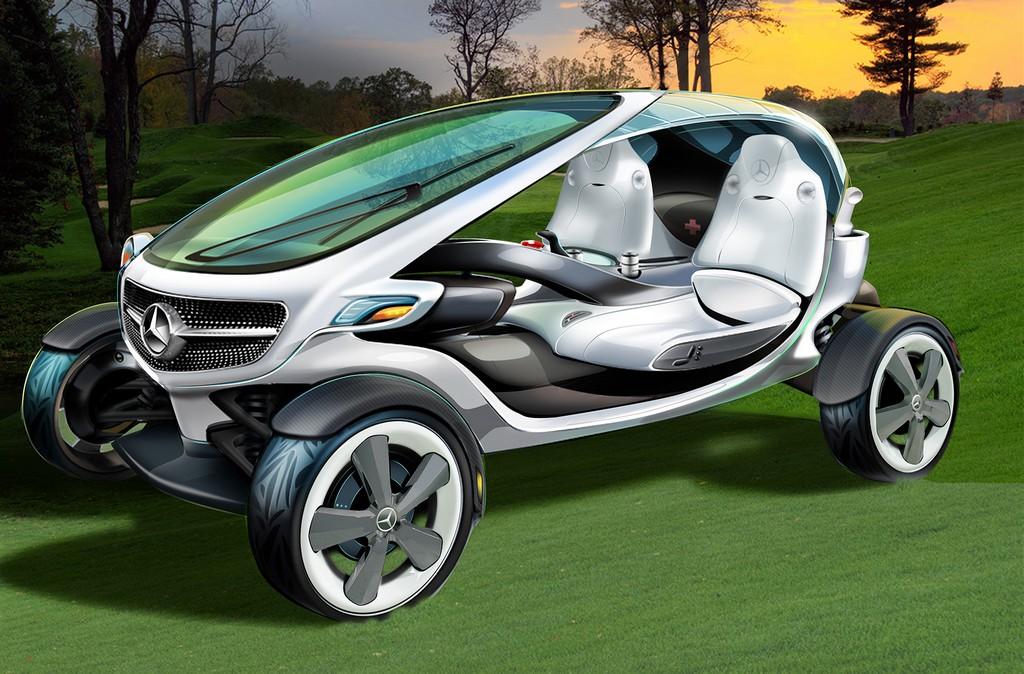 Mercedes Vision Golf Cart