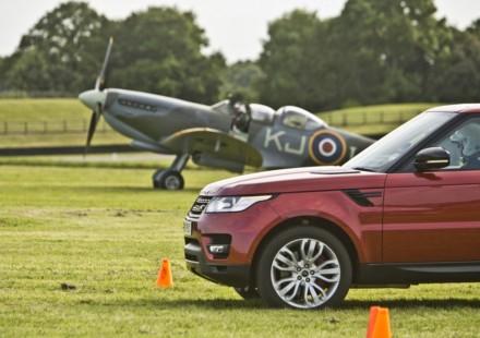Range Rover Sport vs Spitfire