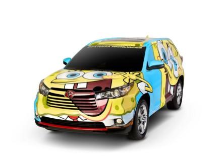Toyota Highlander SpongeBob