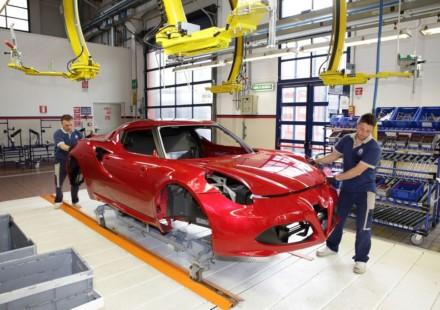 Alfa Romeo 4C i Materiali