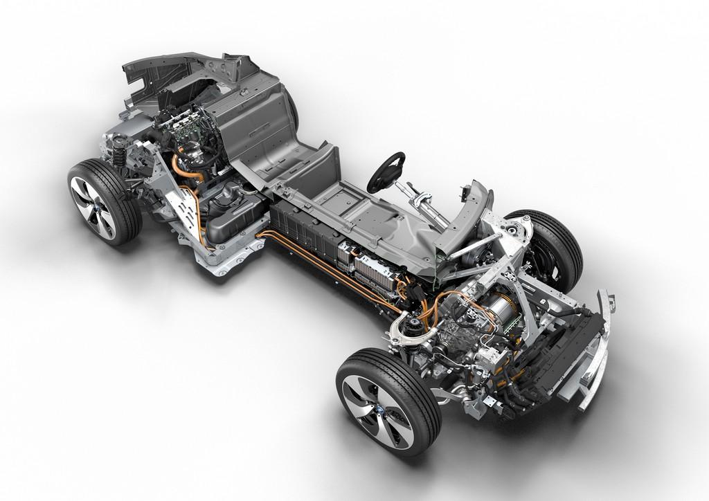 BMW i8 Struttura