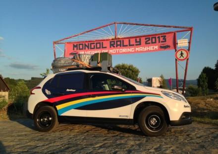 Peugeot 2008 Mongolia Rally
