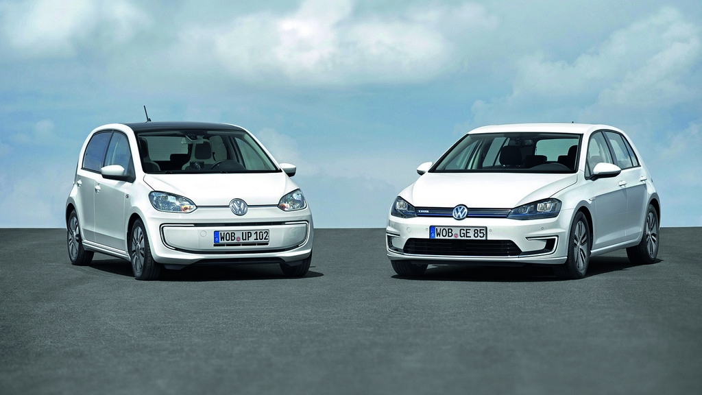 Volkswagen e-Golf ed e-up