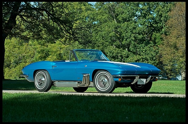 Corvette Convertible Earl 1963