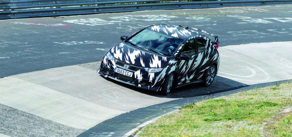 Honda Civic Type-R Nurburgring