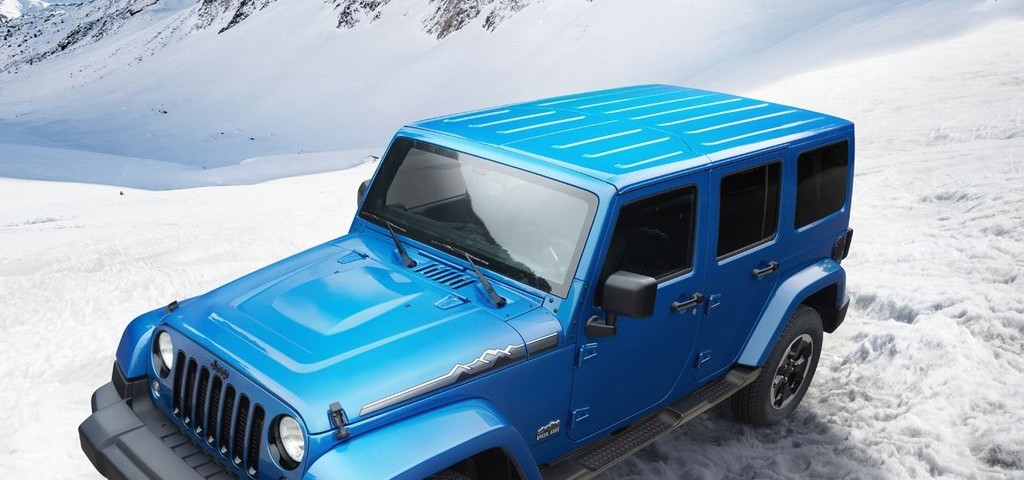 Jeep Wrangler White Polar