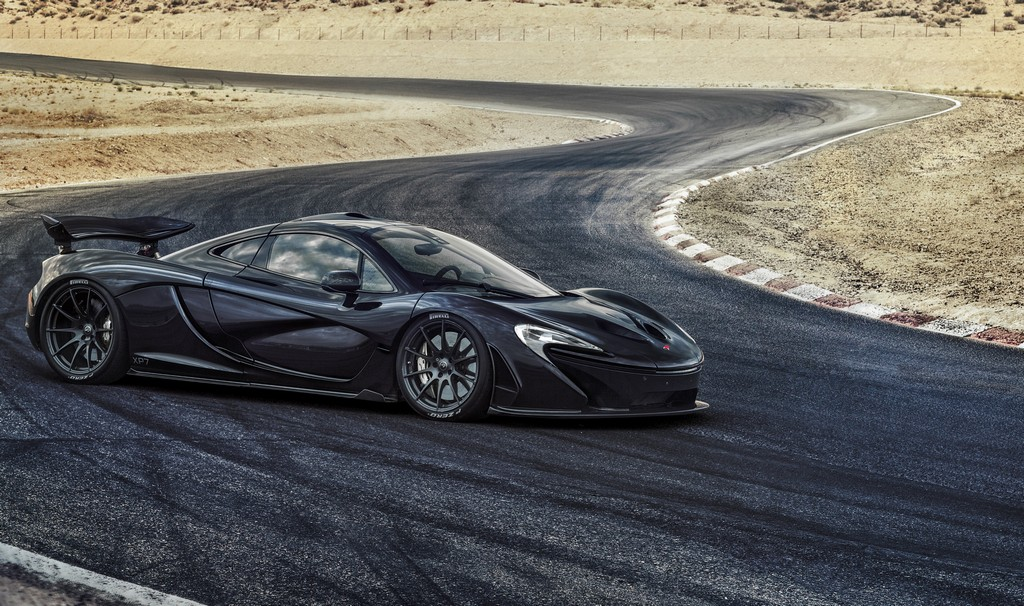 McLaren P1 Test Bollente