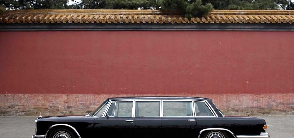 Mercedes Museo a Pechino