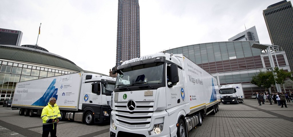 Merceds Actros Convoy of Hope