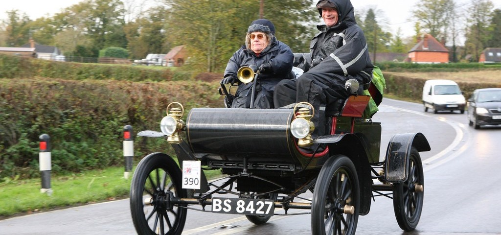 Joy Rainer Oldsmobile Veteran Run Car