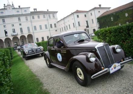Lancia Aprilia 1939 - vincitore Trofeo Milano 2012.JPG