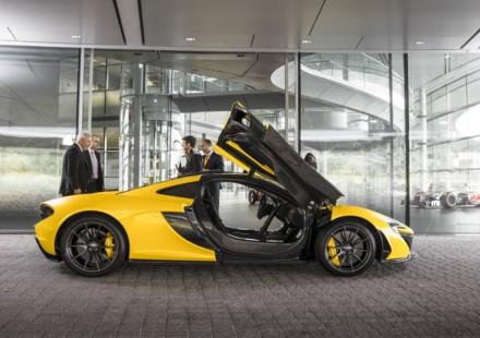 McLaren P1 primo cliente