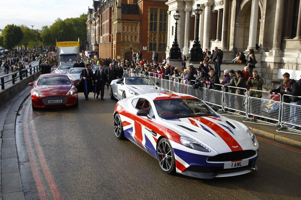 Aston Martin Lord Mayor Show 2013