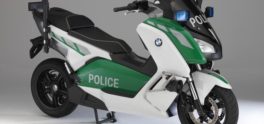 BMW C600 Evolution Polizia Concept