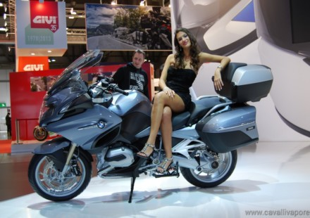 BMW R 1200 RT Eicma 2013 LIVE