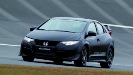 Honda Civic Type R - Ultimo prototipo