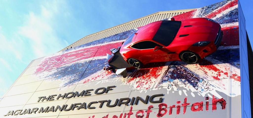 Jaguar F-Type Coupe Castle Bromwich