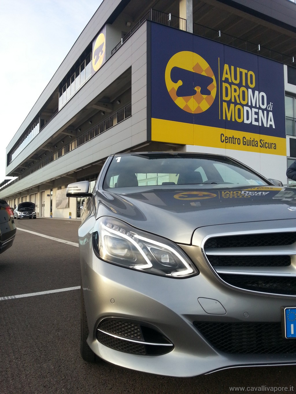 Mercedes Classe E Hybrid - Autodromo Modena LIVE