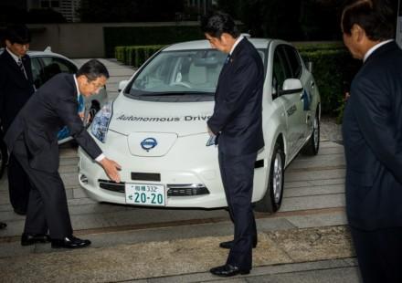 Nissan Leaf Senza Guidatore