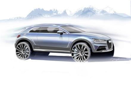 Audi Show car Detroit 2014