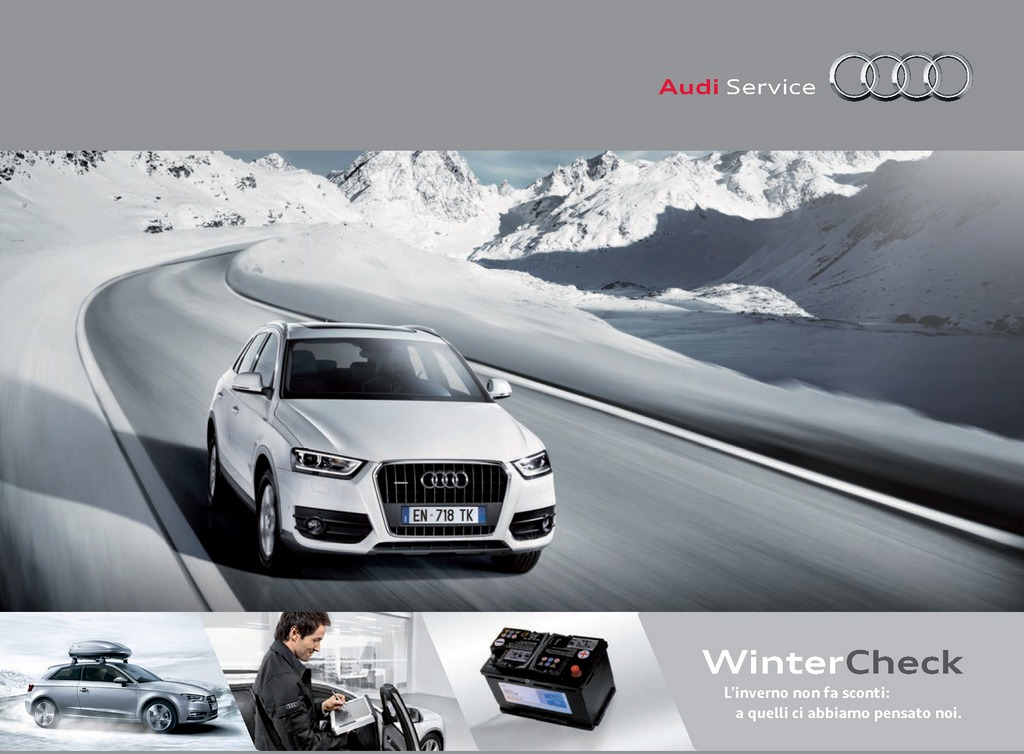 Audi WinterCheck 2013