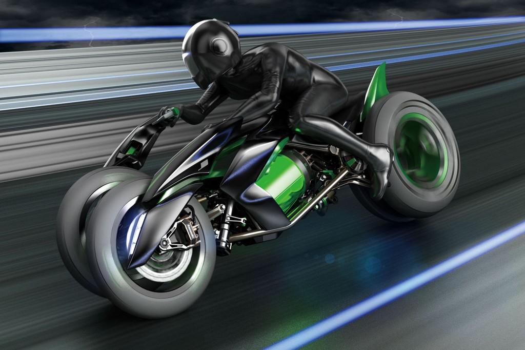 Kawasaki J Concept Sport ModeKawasaki J Concept Sport Mode