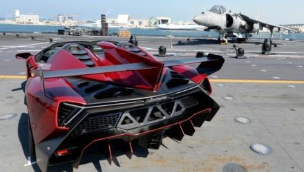 Lamborghini Veneno Roaster Portaerei Cavour