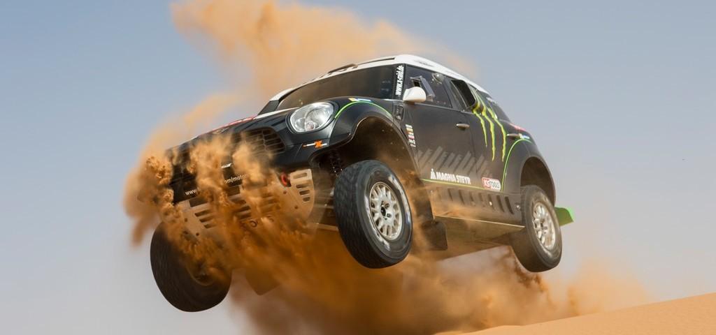 MINI ALL4 Racing Dakar 2014