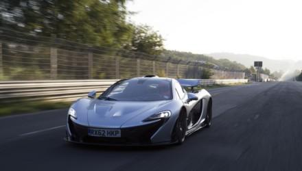 McLaren P1 Nurburgring