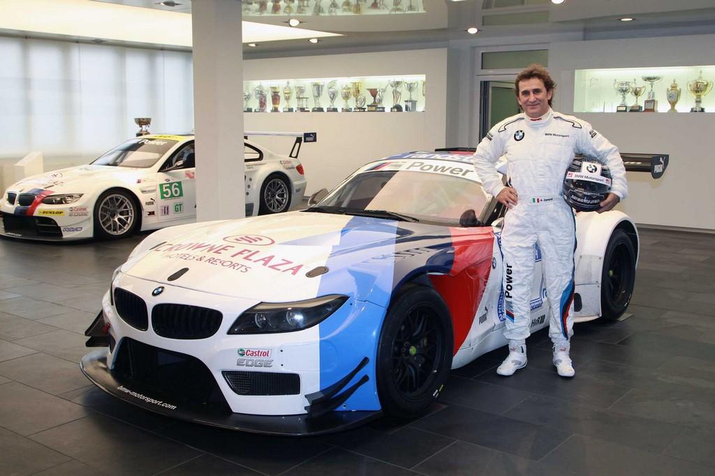 Alex Zanardi BMW Z4 GT3 Blacpain