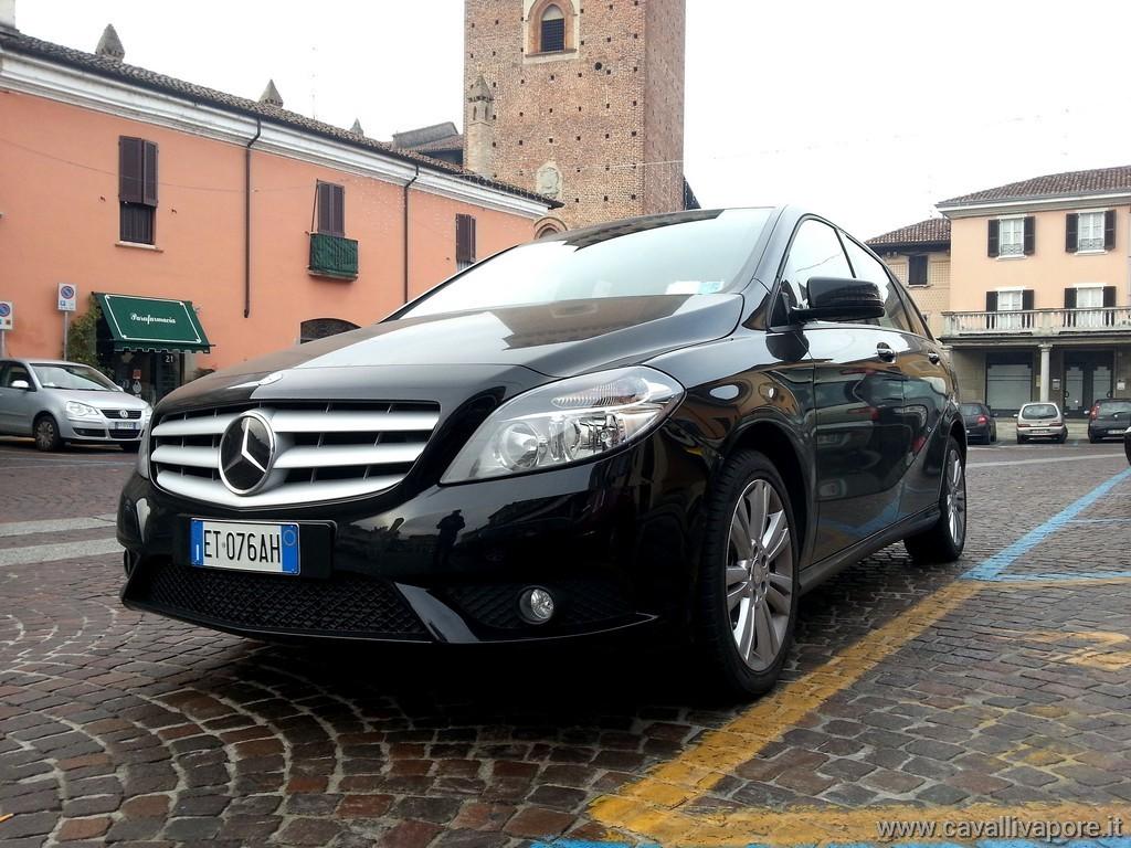 Mercedes Classe B160 CDI Test