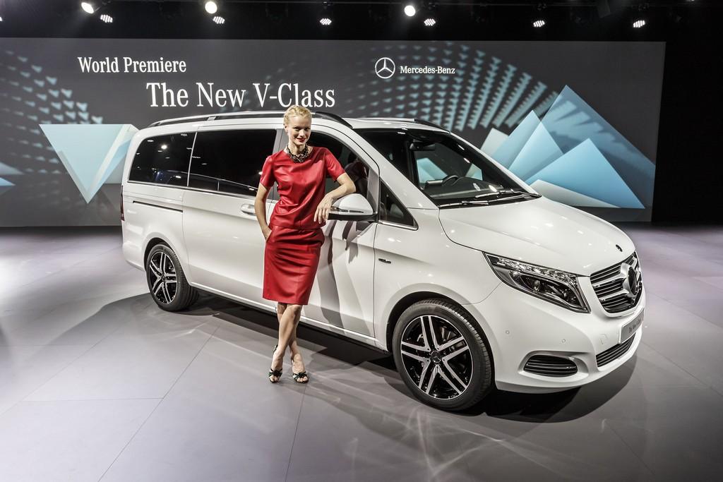 Mercedes Nuovo Classe V 11