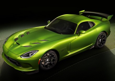Viper SRT Stryker Green