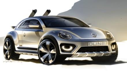 Volkswagen Beetle Dune Concept Sketch