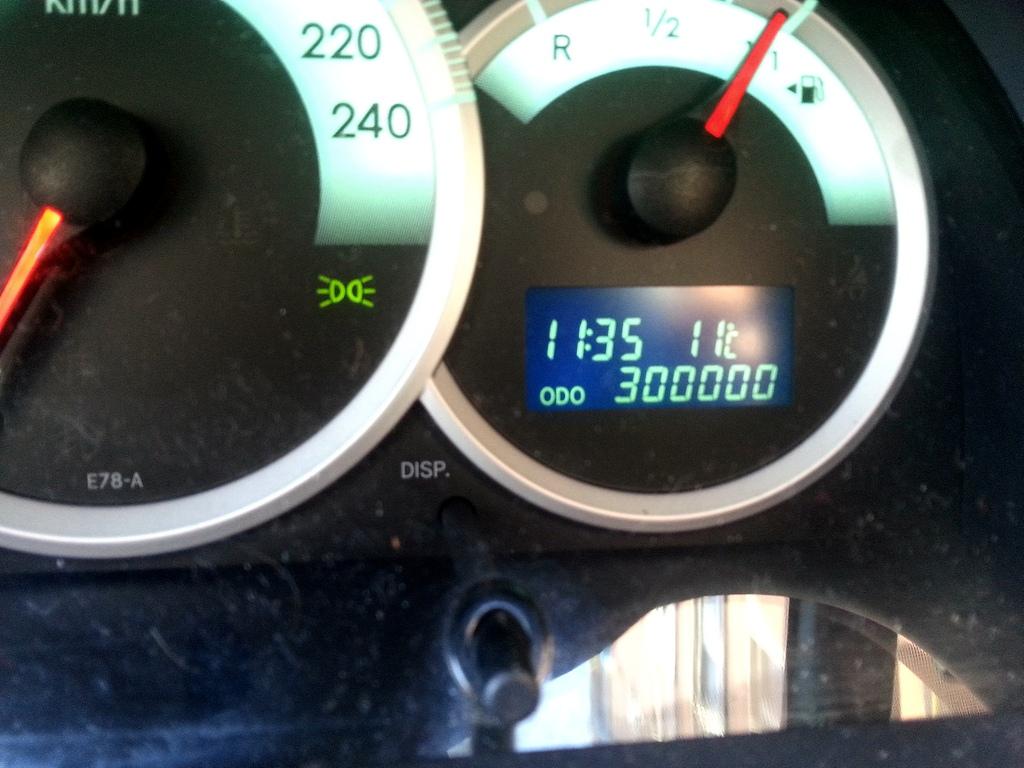 Toyota Corolla Verso 300000 Km