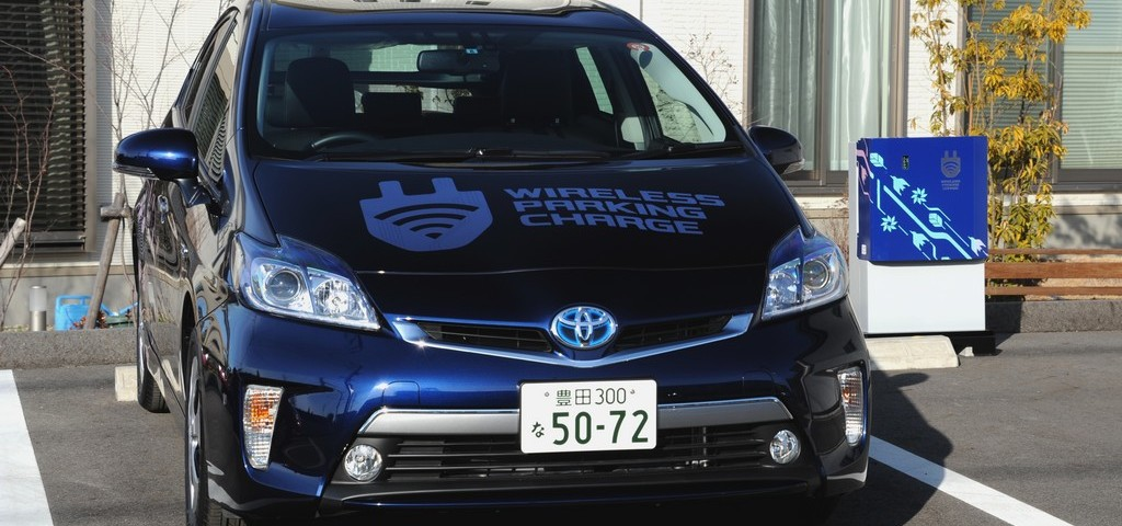 Toyota Ricarica Wireless