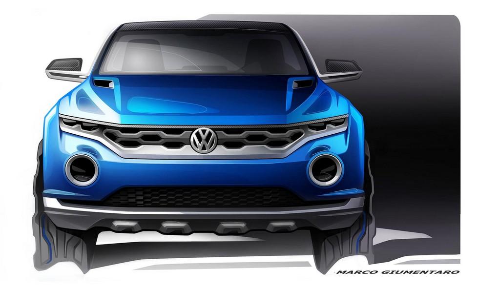 Volkswagen T-ROC Concept Sketch