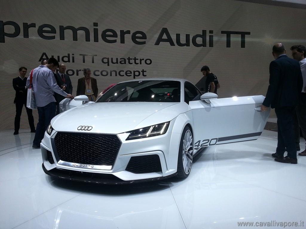 Audi TT Sport Quattro Concept LIVE