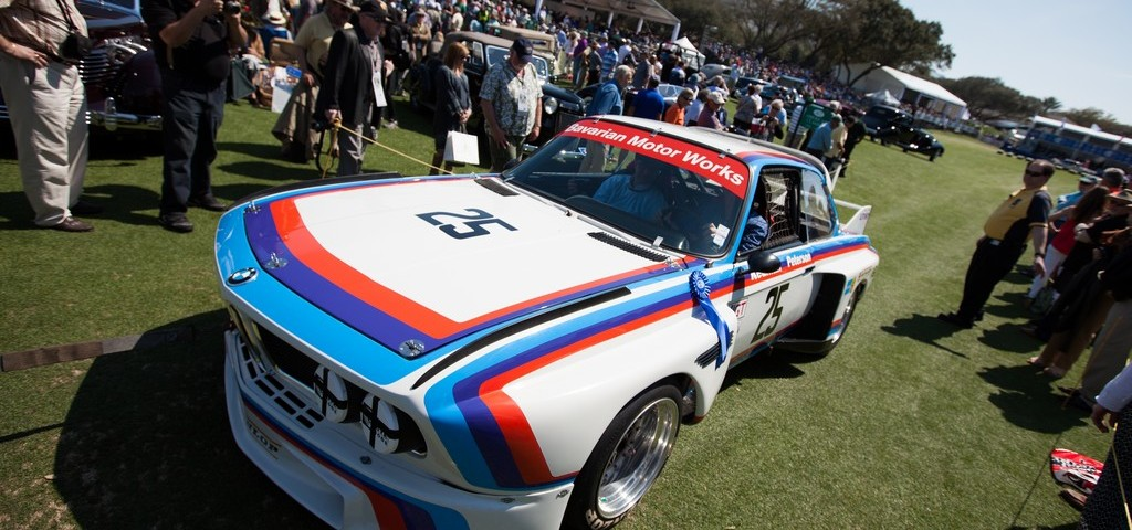 BMW 3.0 CSL Tre Quarti
