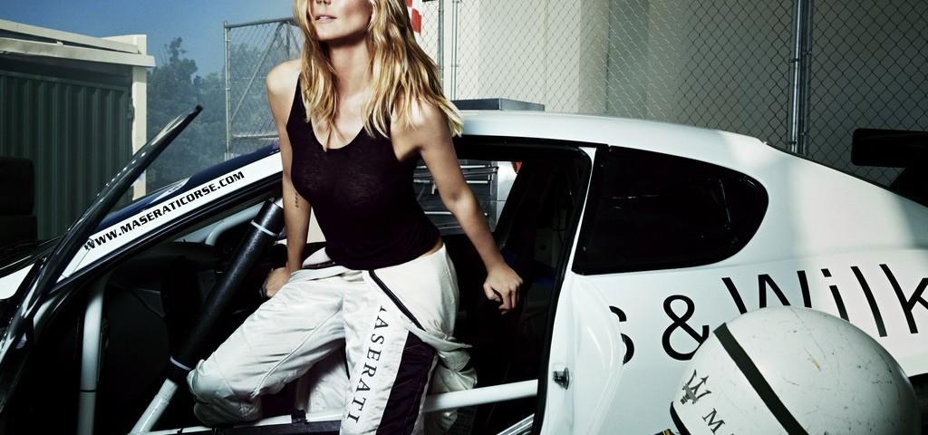 Heidi Klum per Maserati Spor Illustrated